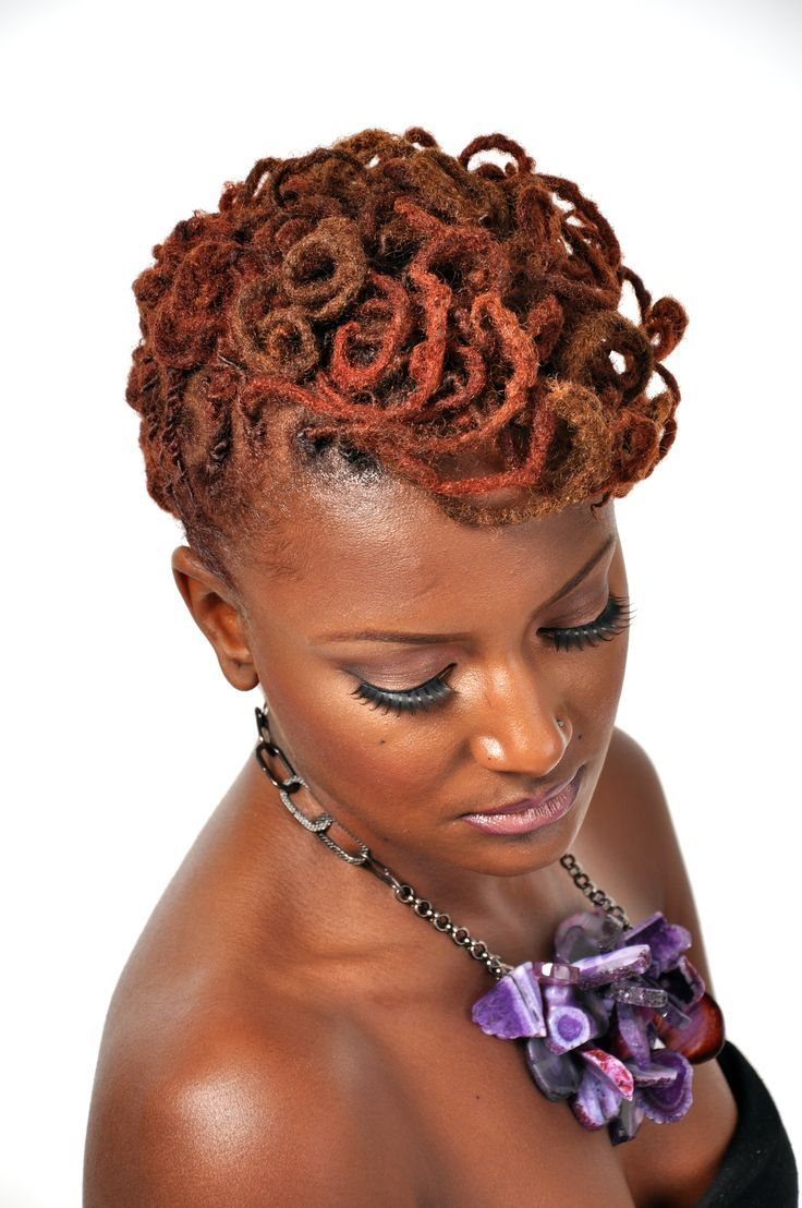 Hairstyles For Dreads the home of locs 107 Best Hair Womens Dreadlocks Twists Cornrows Images On Pinterest Dreadlock Hairstyles Dreadlock Styles And Natural Hairstyles