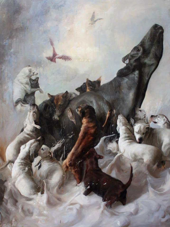 Pintor chileno. Realismo y magia. Exposición individual, Guillermo Lorca Garcia Huidobro