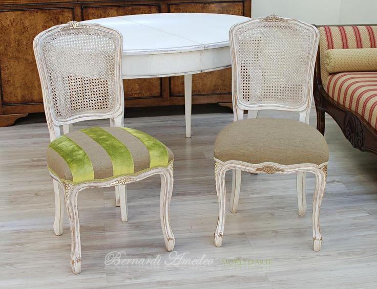 Sedie parigine in faggio massello bianco decap con seduta for Sedie acciaio e paglia di vienna