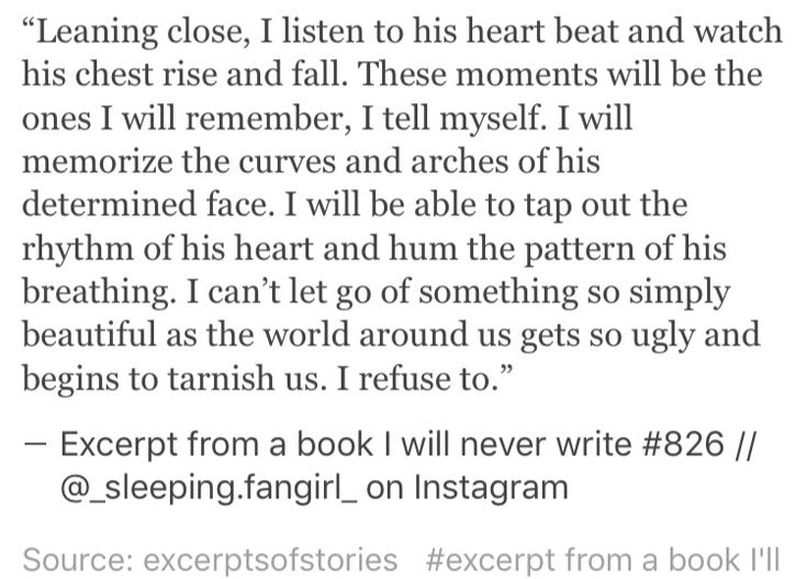 Excerpt from a book I will never write #826 Quotes Pinterest - how to write a profile