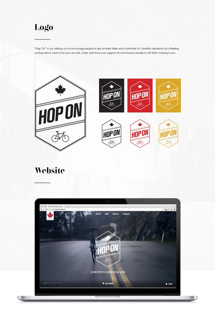 Cycling Canada - HOP ON on Behance