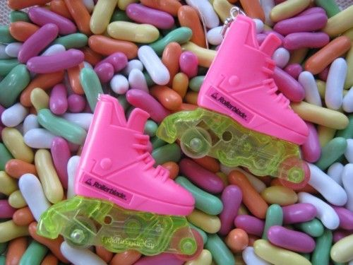 I used to have Rollerblade Barbie. Too bad this would be a total lawsuit today...
