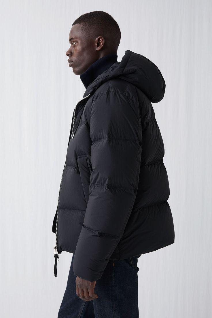 Down Puffer Jacket Black Jackets Coats Arket [ 1104 x 736 Pixel ]