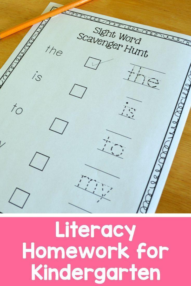 43 best Kindergarten Homework Ideas images on Pinterest | Guided ...