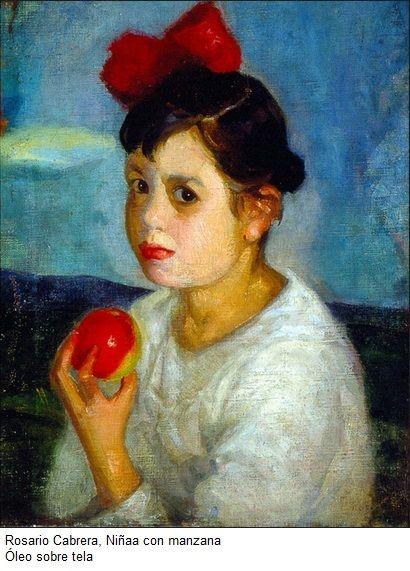 Rosario Cabrera, pintora mexicana.