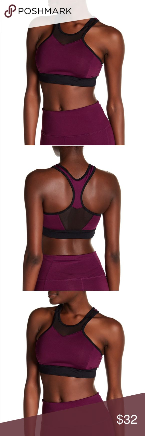 Z by Zella Baja Racerback purple sports bra About This Item Details - Scoop neck - Sleeveless - Racerback - Mesh construction - Imported Fiber Content Body: 88% polyester, 12% spandex Mesh: 80% polyester, 20% spandex Care Machine wash cold Additional Info Fit: this style fits true to size. Zella Intimates & Sleepwear Bras