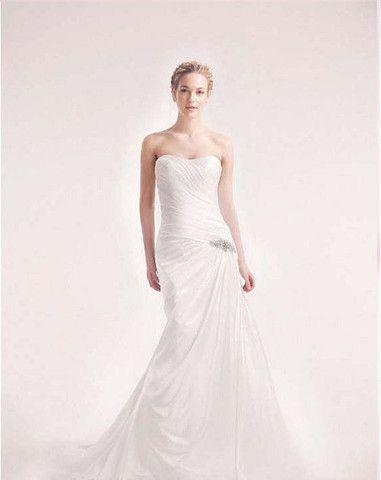 Alita Graham 7711 One Shoulder Gown - Nearly Newlywed Wedding Dress Shop