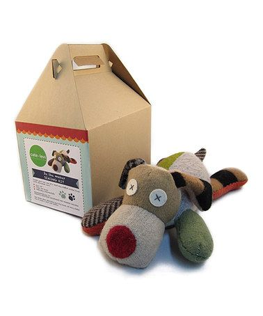 Another great find on #zulily! Scrappy Dog Hand Puppet Kit #zulilyfinds
