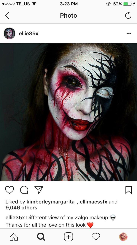 Best 25+ Haunted house makeup ideas on Pinterest   Horror makeup ...