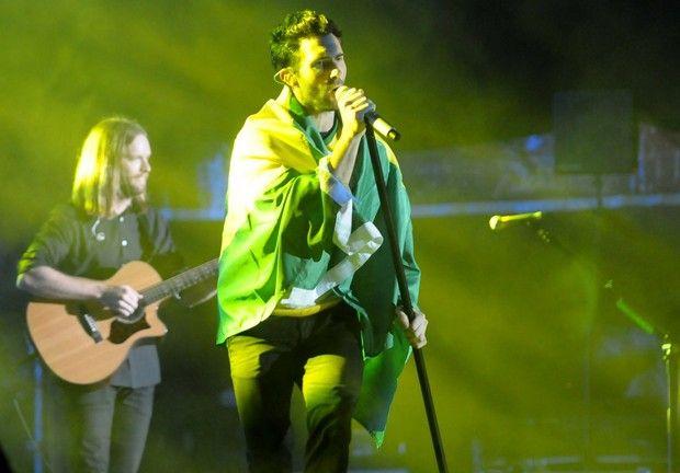 Maroon 5 encerra passagem pelo Brasil com show para 30 mil pessoas