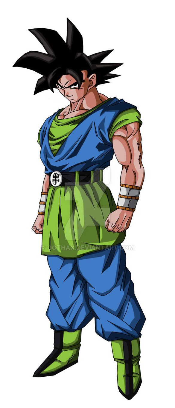 Son Goku AF Normal by Gothax.deviantart.com on @DeviantArt