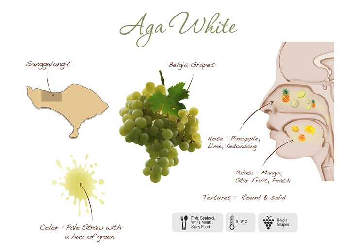 Aga White visual presentation