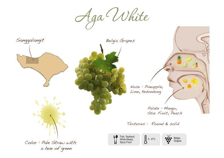 Aga White visual presentation