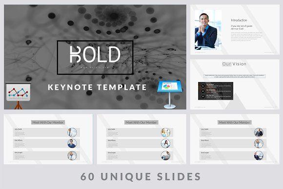 Bold Keynote Template - Presentations