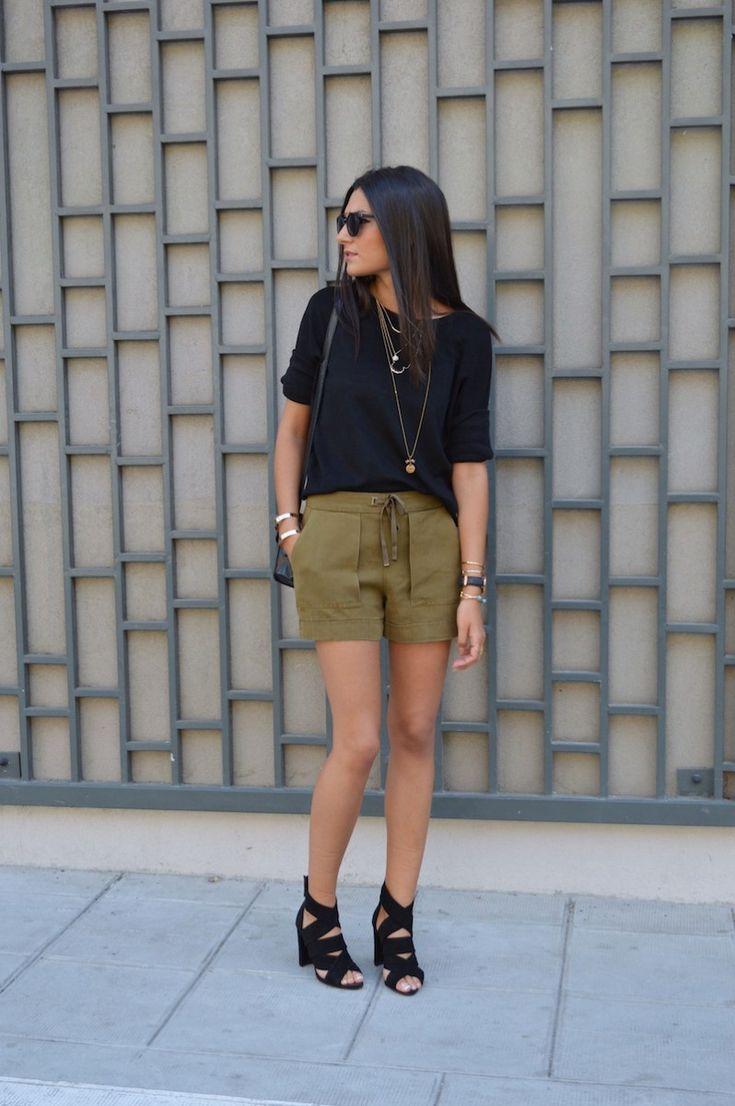 blog mode 2015 short kaki zara