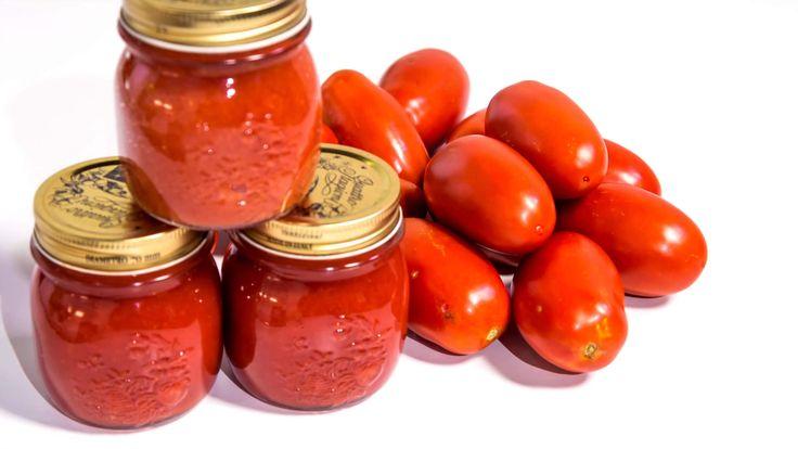 """Passata di Pomodoro - Conserva di Pomodori """"a crudo"""""""