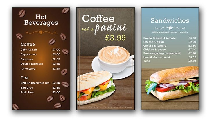 6 DIGITAL MENU BOARD CONTENT TIPS FOR YOUR BUSINESS