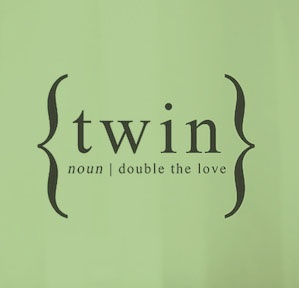 #Twin Noun www.twinsgiftcompany.co.uk