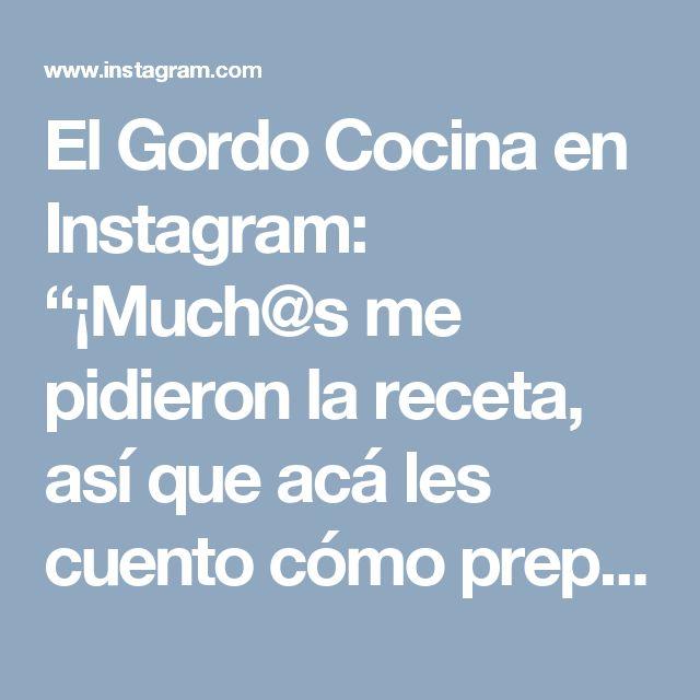 """El Gordo Cocina en Instagram: """"¡Much@s me pidieron la receta, así que acá les cuento cómo preparar este sándwich de """"pulled pork"""" o cerdo desmechado que hice hoy en vivo…"""""""
