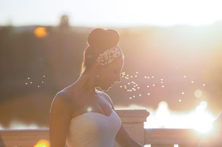 Royal Ambassador bride at sunset