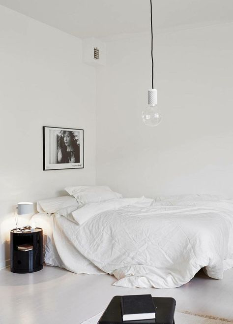 This Concrete Pendant Lamp brings ambience to your bedroom. Stylish and minimalistic design and the color of concrete and texitile cord can be fully customized to fit your personality and interior.