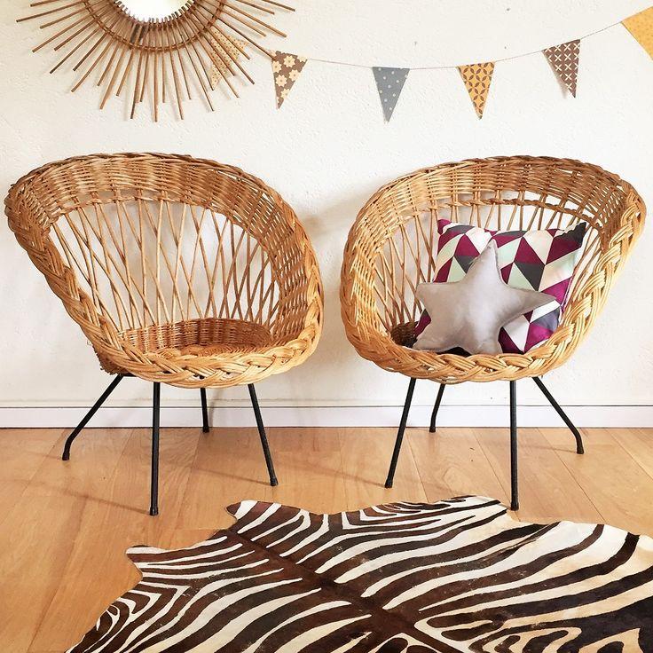 Les 20 meilleures id es de la cat gorie chaise en osier for Chaise enfant en osier