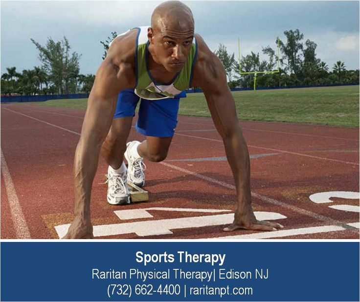 http://raritanpt.com/sports-specific-physical-therapy –  Raritan Physical Therapy is a leader in providing exceptional  sports therapy care in Edison NJ. We work with athletes in all sports including track and field where repetitive stresses on the feet and legs are the largest source of injury and pain.