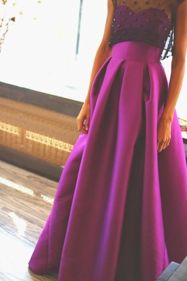 Faldas abullonadas para novias e invitadas