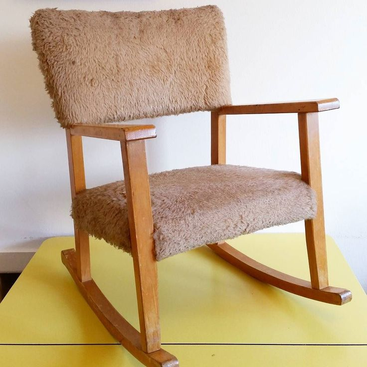 Picked up this gorgeous childs rocking chair this morning it's by Atcraft and I absolutely love it! Anyone have any tips of how best to clean the furry upholstery???