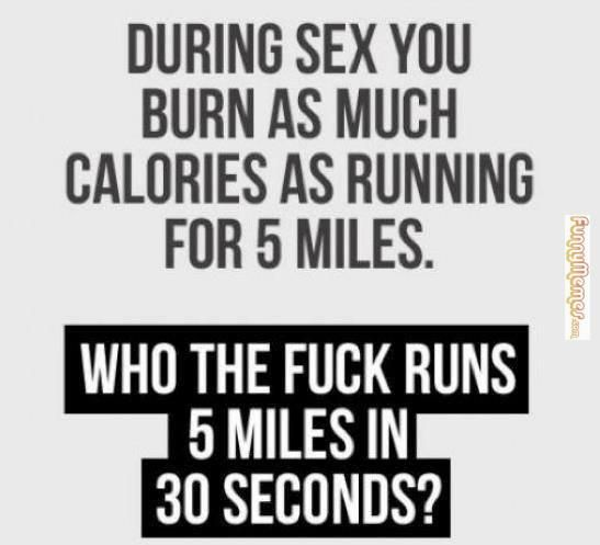 Burn calorie during sex