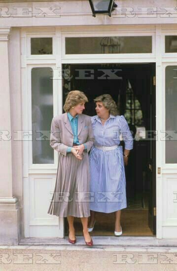 July 04 1986 Princess Diana At Kensington Palace With