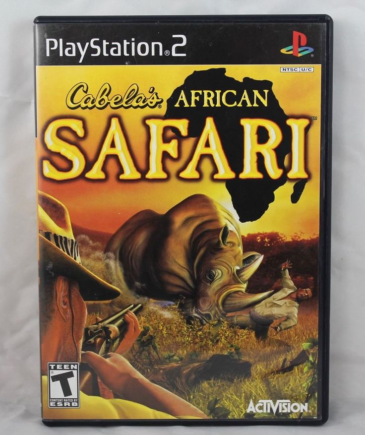Cabela's African Safari (Sony PlayStation 2, 2006)