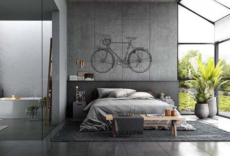 Own your morning // bedroom // interior // bathroom // home decor // wall decor // city suite // urban loft // city living // urban life //