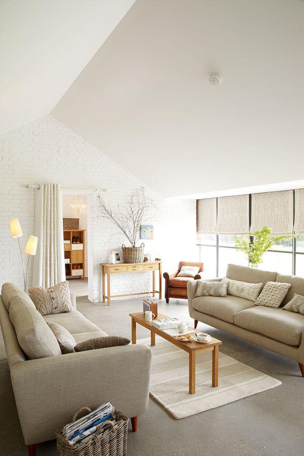 die besten 25 raffrollo leinen ideen auf pinterest helle vorh nge graue raffrollos und. Black Bedroom Furniture Sets. Home Design Ideas