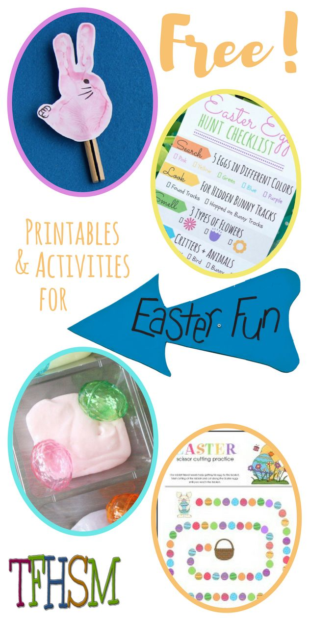 Unit study colors preschool - Free Homeschool Family Printables Unit Study And Activities For Easter From The Frugal Homeschooling Mom P Kindergarten