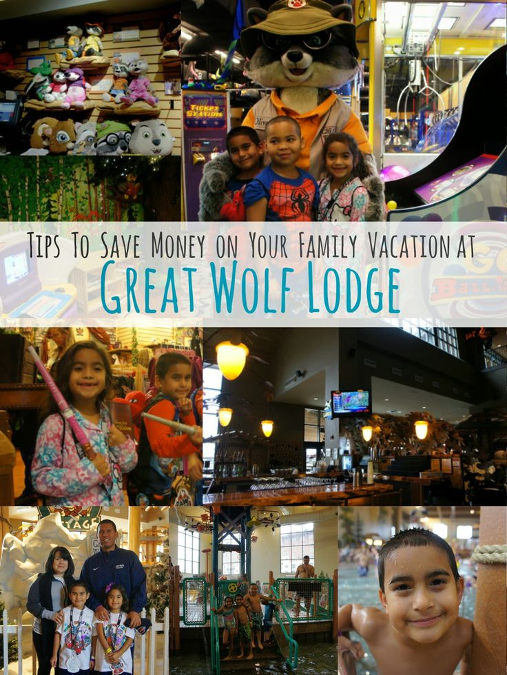 Family vacations at the Great Wolf Lodge in Grapevine, Texas - Family Love In My City