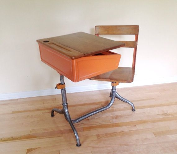 54 best images about vintage school desk collection on pinterest school chairs industrial and. Black Bedroom Furniture Sets. Home Design Ideas