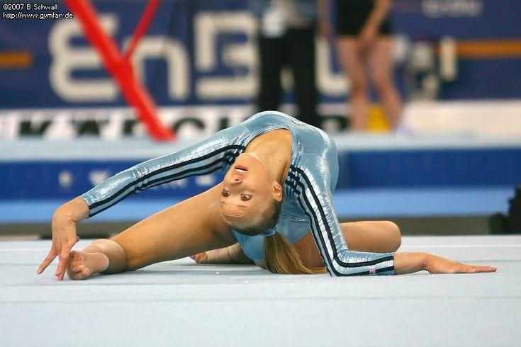 Anastasia Liukin (USA) world championships 2007  Stuttgart, 08/28/2007 - 09/09/2007  podium training