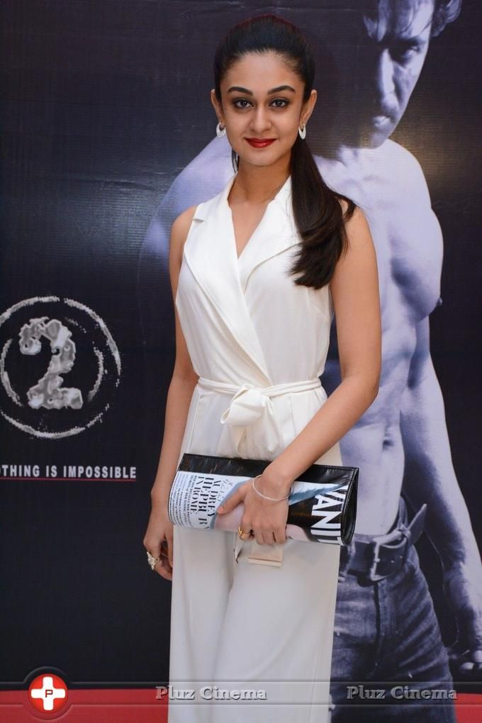 Picture 827308   Aishwarya Arjun At Jai Hind 2 Movie Audio Launch Stills Pictures Actress