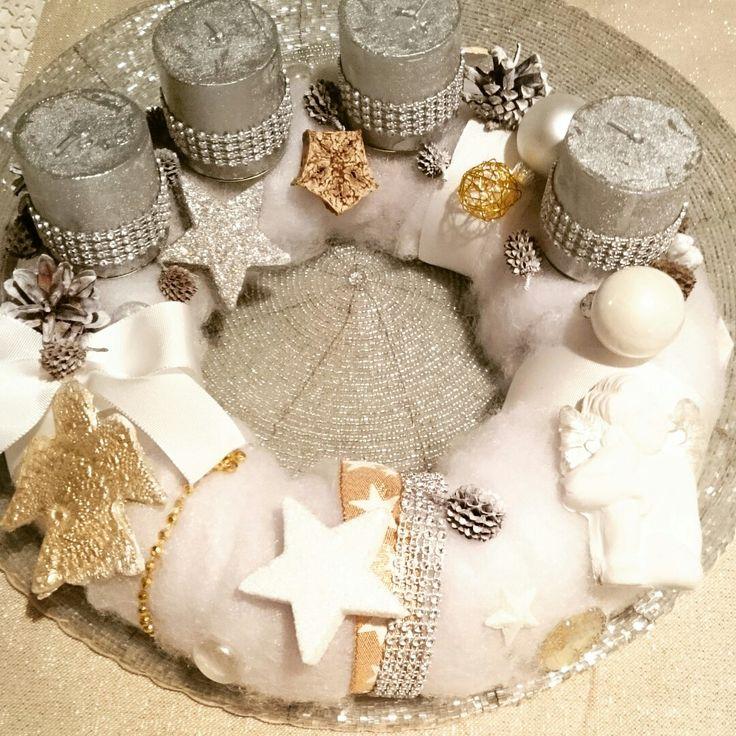 Advent wreath by Sanja Pesic
