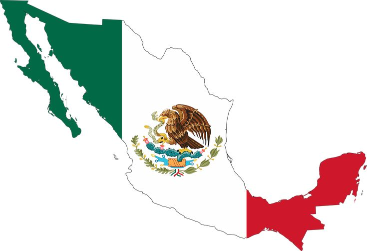 Mexico Flag Drawings | Mexico Flag Map.png 27(K) Mexico Flag Map 555px.png 55(K) Mexico Flag ...