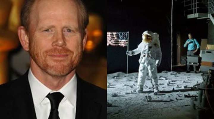 Ron Howard Says The 1969 Apollo 11 Moon Landing Was Faked In A Studio