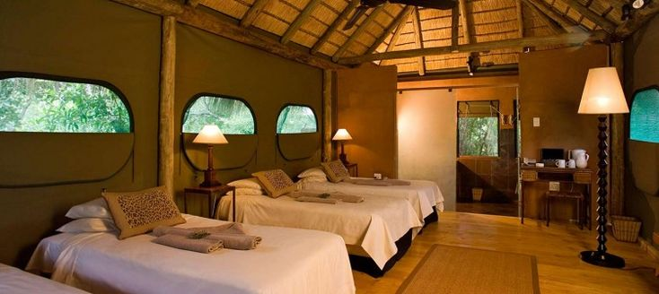 Wildside Tented Camp consists of 20 thatched and tented chalets (including 4 family rooms) and captures the essence of the unspoiled wilderness Entabeni Safari Conservancy in the Waterberg.