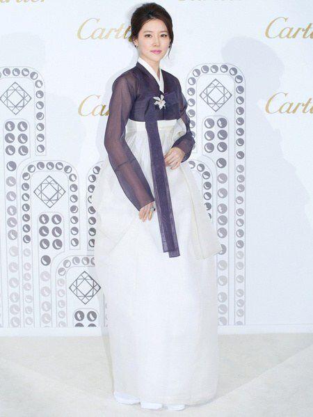 이영애 한복 까르띠에 Hanbok Cartier