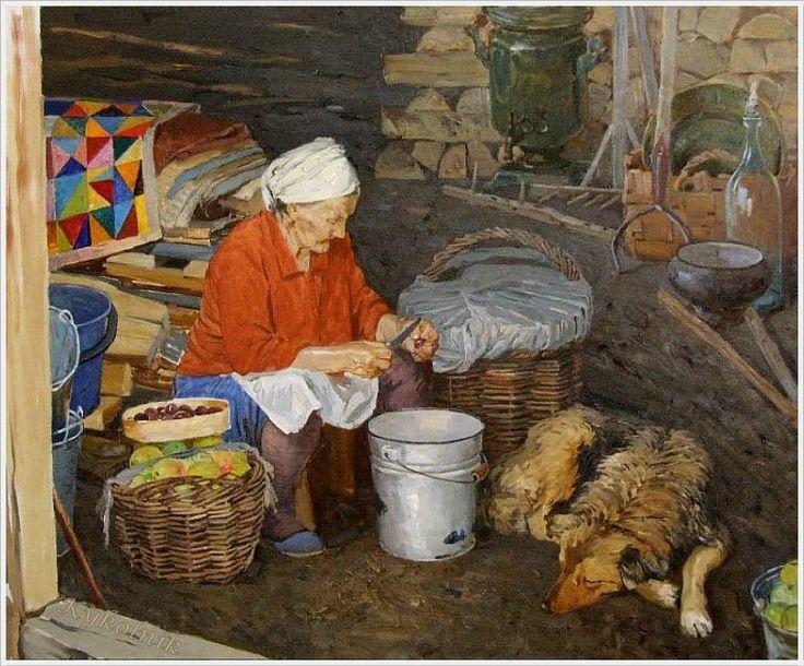 Васильев Дмитрий Юрьевич (род. 1972) «Баба Аня. Вечер» 2008