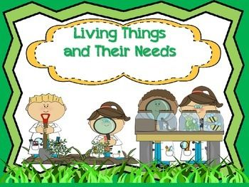 Students will be able to compare and contrast needs of plants and animals with the following:*A bubble map for animal's basic needs.*A bubble map for plant's basic needs.*A venn diagram comparing both plants and animals needs.*A plant diagram and how their parts help meet their needs.*An animal page defining how different animals body parts meet needs.*'Find Someone Who' Formative assessment*Answer Key