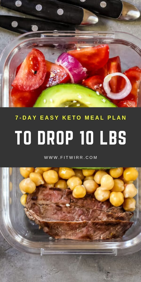 7-day keto diet meal plan to drop 10 lbs and burn fat like crazy. #ketodietmealp...