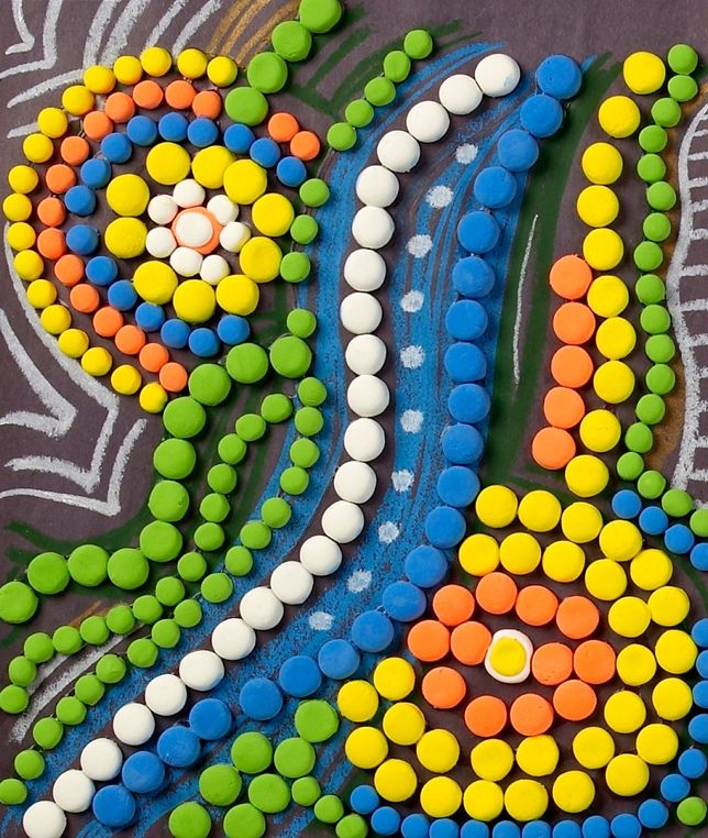 Aboriginal Art lesson plan- crayola