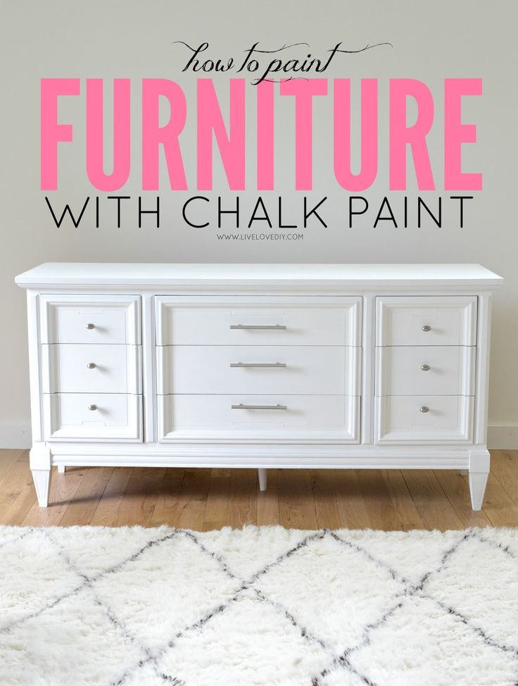 How To Paint Furniture with Chalk Paint (and how to survive a DIY disaster).