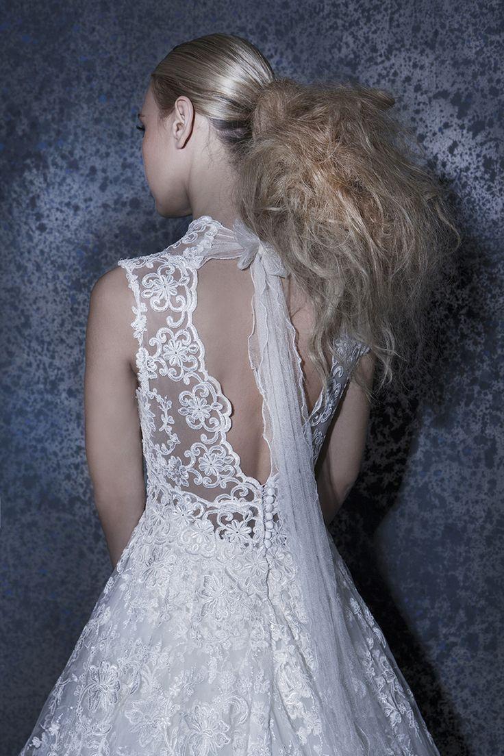 Our Jullieta! #romantic #detail #lace #gown